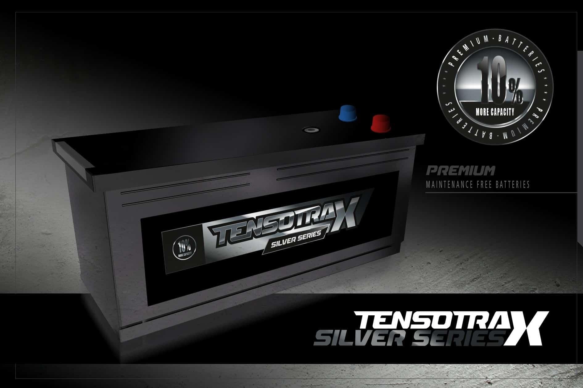 4 x 12 VOLT 250Ah Semi Tractie Accu ( Start / Licht ) onderhoudsvrij gesloten Tensotrax + WINDMOLEN 12V of 24V-0